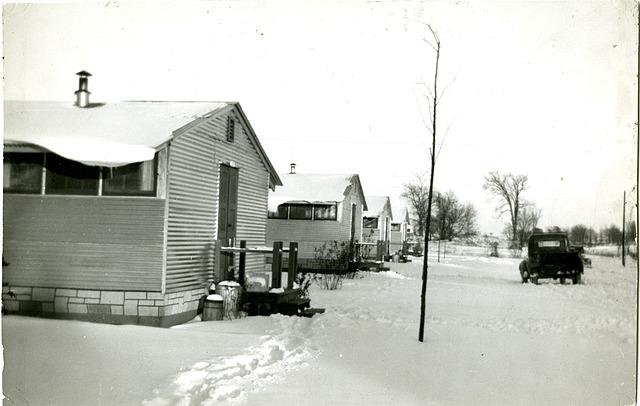 Pine Hill Village Winter